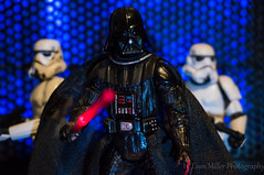 Vader and Stormtroopers (H. Evan Miller) Tags: toy toys actionfigure starwars sony scifi stormtrooper sciencefiction vader darthvader sith nex hevanmiller nex6
