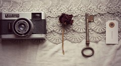 . (DreamCatcher..) Tags: camera rose vintage key adventure abenteuer adeventure