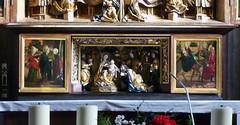 Michael Pacher, Sankt Wolfgang Altarpiece, Predella