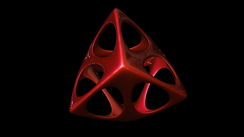 """tetrahedron spiky soft • <a style=""""font-size:0.8em;"""" href=""""http://www.flickr.com/photos/30735181@N00/8325423917/"""" target=""""_blank"""">View on Flickr</a>"""