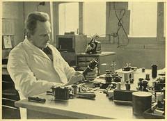 Oskar Barnack in his workshop (Hans Kerensky) Tags: camera leica 1932 work october designer engineering oskar tijdschrift leitz barnack photomagazine luxde anywhitefieldtagbyflickrsspamtagbot