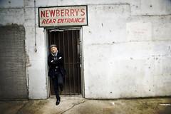 Rear Entrance (Michael Brooking Photography) Tags: street portrait gate rear entrance newberrys stocktoncalifornia michaelbrookingphotography