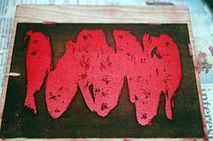 21440010-84 (jjldickinson) Tags: wood fish print cherry carving longbeach card tsukiji printmaking wrigley olympusom1 woodblock danielsmith fujicolorsuperiaxtra400 mokuhanga laserengraving permanentred watersolublereliefink acrylicretarder promastermcautozoommacro2870mmf2842 promasterspectrum772mmuv roll399