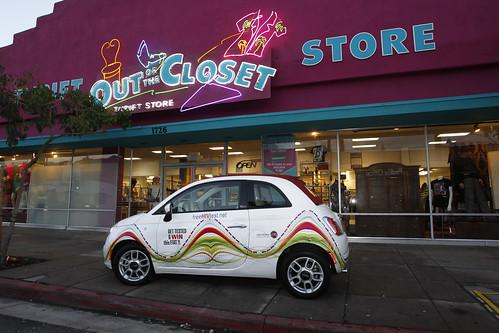 Fiat Giveaway - OTC Pasadena, Januay 1, 2013