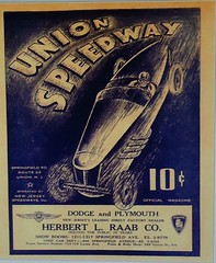 Union Speedway 1936-1940 (Bobcat301) Tags: carposter raceposter