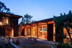 Beers Residence (Chimay Bleue) Tags: california wood house home glass architecture modern design mod san fifties post beers modernism diego 1954 canyon hills beam southern architect socal lloyd mission 50s redwood siding modernist midcentury postwar ruocco