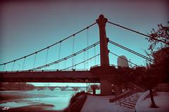 Hennepin Avenue Bridge (SPP - Photography) Tags: winter minnesota minneapolis twincities hennepinavenuebridge spp topazadjust topazsoftware sppphotography