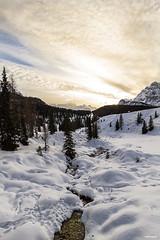 Rin Bianco (Alberto Grego Photography ) Tags: sky lake snow color love alberi montagne canon river landscape lago fiume cielo neve acqua freddo montain paesaggio 1022 veneto misurina whater eos7d