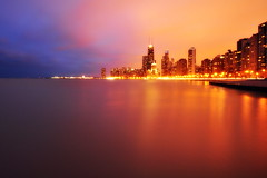 Colorful Chicago (Seth Oliver Photographic Art) Tags: nightphotography chicago reflections john landscapes illinois nikon midwest nightlights michigan cities cityscapes nightshots hancock pinoy nightscapes chicagoskyline urbanscapes 30secondexposure secondcity windycity longexposures chicagoist cityskylines d90 nightexposures wetreflections cityofbigshoulders iso280 buildinglake manualmodeexposure setholiver1 aperturef220 circularpolarizers tripodmountedshot remotetriggeredshot 1024mmtamronuwalens urbanskylinesskyscrapers