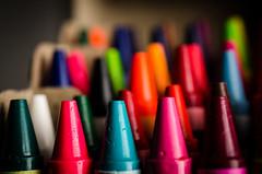 Colors (8/52) (DavidMattos) Tags: macro iii micro plus 40mm crayons westcott apollo softbox sb28 pocketwizard 28g