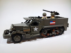 M21 81mm Mortar Motor Carriage (Project Azazel) Tags: google lego pa ww2 ba m3 halftrack googleimages brickarms m3halftrack legomilitary thesecondworldwar ww2vehicles legoww2 legohalftrack olddarkgrey halftracklego legowwll projectazazel legomilitarymodel wwlllego legomilitarymodels wwllvehicle