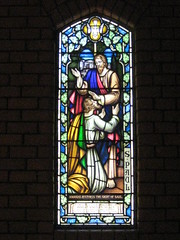 A Stained Glass Window in the Anglican Church of St Paul  Corner Queen and Bridge Streets, Korumburra (raaen99) Tags: 1920s building church window glass architecture religious town worship interior faith religion jesus australia chapel stainedglass victoria bible markettown queenst stpaulschurch queenstreet stainedglasswindow biblical 20s anglicanchurch gippsland 1927 leadlight gothicarchitecture churchwindow placeofworship gothicchurch bridgestreet countryvictoria bridgest churchofstpaul korumburra southgippsland stpaulsanglicanchurch religiousbuilding interwar provincialvictoria stainedglasschurchwindow australianchurch dairytown anglicanchurchofstpaul architecturallydesigned interwararchitecture korumburraanglicanchurch alfredfrongerud interwargothicarchitecture interwargothicchurch
