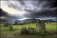 Trampled underfoot (SwaloPhoto) Tags: winter england cloud megalithic grass nationalpark lakedistrict cumbria nationaltrust keswick stonecircle castlerigg ancientmonument stjohnsinthevale 3200bc canonef24105f4is centralfells canoneos5dmkii