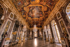 Palace of Versailles: Hall of Mirrors HDR (Tom.Bricker) Tags: france versailles hallofmirrors hdr palaceofversailles photomatix versailleshallofmirrors nikond600 nikon1424mmf28 tombricker
