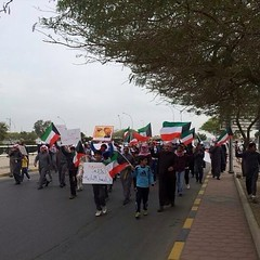 #_  # # . 18-1-2013 # # # # # # # q8 #bedoon #kuwait #discrimi (bedoon.media - KBM) Tags: square human rights squareformat kuwait demonstrations   jahra  bidoon  bedoon   iphoneography instagramapp