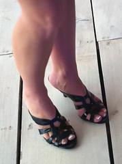 IMG_4252 (heellover91) Tags: woman sexy feet girl foot high shoes toe legs sandals heels peep strappy peeptoe