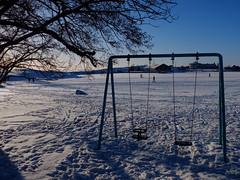 Winter wonderland Finland (jarimakila) Tags: winter snow ice finland helsinki lumi talvi kaivopuisto jää uunisaari uusimaa fujifilmx10
