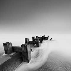 Old Pipe (Alistair Bennett) Tags: old seascape beach sunrise mono coast northumberland links blyth seatonsluice outletpipe gnd075he gnd045se nikkorafs1635mmƒ4gedvr