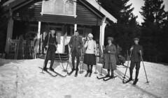 Bondehytta, Nittedal. Ca. 1918-1920.