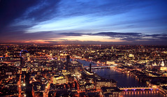 View from the top of The Shard 01 (Bill-Green) Tags: sunset london millenniumbridge tatemodern stpaulscathedral southwark openingday theview bankside blackfriarsbridge southwarkbridge thelondoneye thethames theshardofglass bridgesoflondon viewfromtheshard londonskylinewest