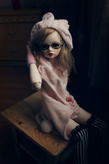 Claudia (_Monsun_) Tags: cute girl doll vampire bjd dim dimdoll bellosse