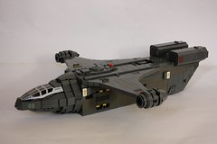 ISSCV (1) (Babalas Shipyards) Tags: lego space military craft cargo vehicle dropship spaceabovebeyond isscv issapc