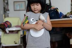 DSC_9177 (Jenny Yang) Tags: 小啾啾 斑斑 白文鳥 胡錦鳥 lady gouldian finch pet bird