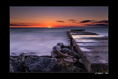 Good Morning! (Jengebos) Tags: lake michigan lee littlestopper graduated neutral density sunrise