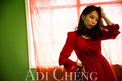 Adi_0041 (Adi Chng) Tags: adichng girl      redgreen