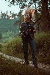 IMG_5215 (rodinaat) Tags: longhair longhairman longhairedman longhaired beard bearded metal metalhead powermetal trashmetal guitar musican guitarplayer brutal forest summer sun