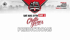 Chilla Jones  KOTD: World Domination 6 Predictions  Day 2 #WD6... (battledomination) Tags: chilla jones  kotd world domination 6 predictions day 2 wd6 battledomination battle rap battles hiphop dizaster the saurus charlie clips murda mook trex big t rone pat stay conceited charron lush one smack ultimate league rapping arsonal king dot freestyle filmon