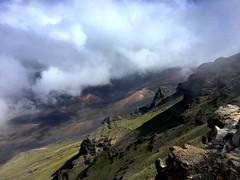 Haleakala volcano, Maui (PeterCH51) Tags: hawaii maui haleakala volcano crater iphone peterch51 caldera haleakalanationalpark haleakalacrater kalahakuoverlook cindercone