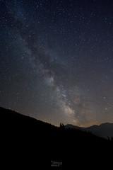 Voie Lacte - Verbier (thierry.ebener) Tags: verbier bagnes entremont nuit etoiles stars voie lacte voielactee milkyway