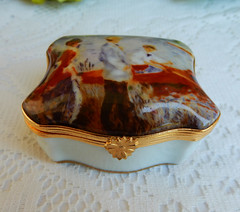 Limoges France Porcelain Trinket Box ~ Oarsmen at Chatou ~ Renoir (Donna's Collectables) Tags: limoges france porcelain trinket box ~ oarsmen chatou renoir