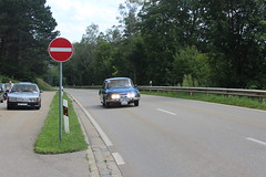 Tatras on their way in Bavaria (Davydutchy) Tags: tatra register deutschland trd jahrestreffen annual rally ausfahrt classic car ride beilngries bayern bavaria beieren duitsland germany t603 603 t613 613