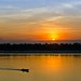 Sundown @Mekong in Kratie - Cambodia