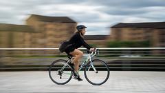 Glasgow Clydeside (Neo7Geo) Tags: sony sonya7mkii ricorodriguez neo7geo glasgow riverclyde clyde panning scotland bike cycle