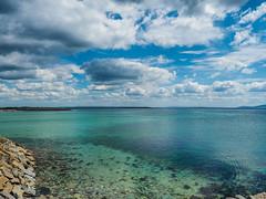 Galways' Finest aka Salthill (David Cheung Photography) Tags: salthill galway ireland clouds blue sky sea wildatlanticway wild atlantic west like share comment olympusomd omdem10 mzuiko mzuikopro mzuiko1240mm promenade summer