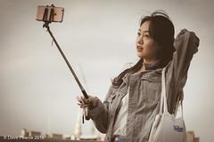 Retro Selfie (Dave Pearce (London)) Tags: 18135 80d canon selfie hair phone photo photograph retro self stick windy