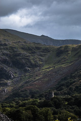 Dolbadarn Castle,Lady Of Snowdon And Mount Snowdon! (dafo14) Tags: snowdon castle dolbadarn summit lady landscape wales mountain trees scree
