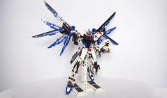 LEGO Freedom Gundam ZGMF-X10A (demon14082001) Tags: lego freedom gundam mobile suit seed moc creation zgmfx10a perfect grade robot mecha destiny nn trng