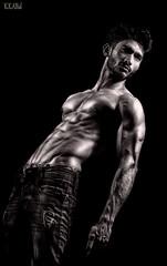Saad LB #02 (Kazi_Kamrul_Abid) Tags: man male model hot figure lowlight hunk sixpacks abs kkabidphotography