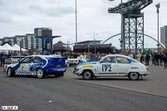 Saab 96 V4 + Ford Escort MK5 WRC Glasgow 2016 (seifracing) Tags: saab 96 v4 ford escort mk5 wrc glasgow 2016 seifracing spotting scotland services emergency ecosse cars vehicles van britain brigade police rescue