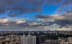 Monsoon in the City (views@vista) Tags: clouds hdr hills landscape maharashtra monsoon nature outdoor pune rains sky urban