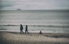 on the beach (hansekiki ) Tags: rgen prora beach strand squeezerlens canon 5dmarkiii ostsee balticsea
