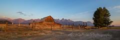 Fenced In (M@ Kadlick) Tags: tetons grandtetons barn moutonbarn sunrise mattkadlick