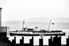 MV Balmoral (Benn Gunn Baker) Tags: ps waverley benn gunn baker canon 550d t2i portishead mv balmoral