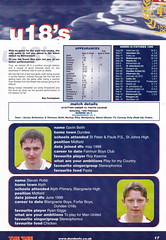 Dundee vs Rangers - 2000 - Page 17 (The Sky Strikers) Tags: dundee rangers scottish premier league spl bank of scotland dens park matchday magazine one pound fifty