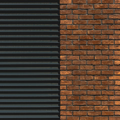 Half. (Tomasz Aulich) Tags: lodz nikon poland nikkor architecture building brick line shape colour urban city half shadows rust sunlight geometry street outdoor travel