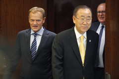President Tusk on the UNGA in New York (europeancouncilpresident) Tags: un unga eu european europeanunion president council donald tusk new york united nations general assembly migration ban ki moon